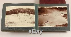 1907 2 x photograph albums Tauranga and Rotorua NEW ZEALAND maori