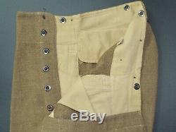 1942 Dated New Zealand Battledress Blouse and Trousers