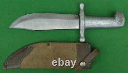 1943 GUNG HO Bowie Knife as used by USMC CARLSONS RAIDERS Made in NEW ZEALAND