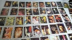 1976 Star Trek Captains Log Trading Card Set 72/72 Allens & Regina New Zealand