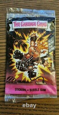 1985 The Garbage Gang Australian Series 2 Unopened Pack GOOD CONDITION! RARE