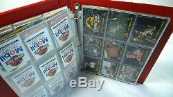 1992 Jurassic Park Trading Card Sets Binder New Zealand Australia Foreign