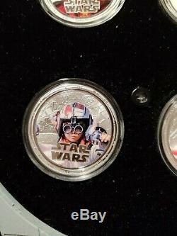 2012 Star Wars Millennium Falcon Coins Darth Maul Anakin Skywalker Amidala Yoda