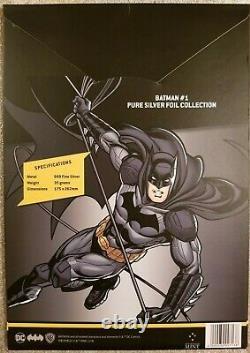 2018 DC Batman #1 CGC 10 Gem Mint, First Release Silver Foil with Original Box