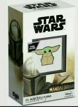 2021 Chibi Coin Collection STAR WARS The Mandalorian The Child 1oz Silver Coin