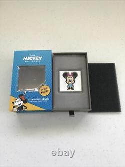 2021 Niue Chibi Coin Collection Disney Series Minnie Mouse 1oz Silver Coin