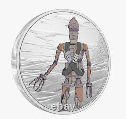 2021 Niue The Mandalorian IG-11 1 oz Silver Coin SOLD OUT