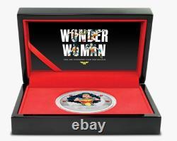 2021 WONDER WOMAN 80th Anniversary 1oz Silver Coin