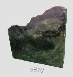 820gm New Zealand Nephrite Jade block rough (Greenstone, Pounamu)