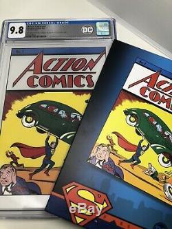 ACTION COMICS #1 CGC 9.8 MT 35 Grams Silver Foil 2018 DC Superman