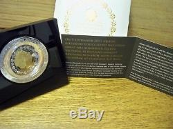 A New Zealand 2015 Longest Reigning Monarch Rotating 1oz Silver Gold Proof Coin