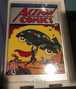 Action Comics #1 (2018) DC Sealed 35g Pure Silver Foil New Zealand Mint Superman