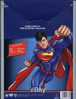 Action Comics #1 CGC 9.9 MT 35 Grams Silver Foil 2018 DC Superman First Release