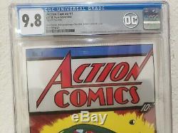 Action Comics #1 Silver Foil 9.8 CGC New Zealand Mint. 999 Fine Silver