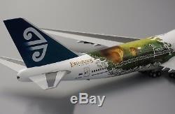 Air New Zealand B747-400 Special LOTR Reg ZK-NBV JC Wings 1200 Diecast XX2859