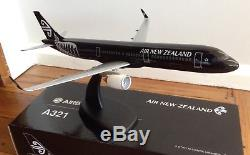 Air New Zealand Black Airbus A321 NEO Pacmin Model
