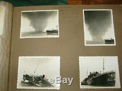 Album photographs HMS Sussex Navy New Zealand Australia Malta Solomon Isles