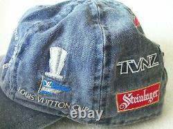 America's Cup 1995 Team New Zealand ltd ed collectible logo hat cap #1081/2000