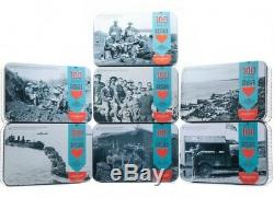 Anzac RSA Biscuit Tins, 2015 New Zealand Limited Edition set