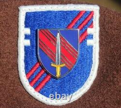 Authentic New U. S. Army 2nd Security Force Assistance Brigade, Brown Beret, USGI