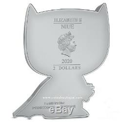 BATMAN-Chibi Coin Collection DC Comics Series 1oz Proof Silver Coin Niue 2020