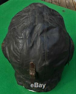 BATTLE of BRITAIN era B-Type Flying Helmet RNZAF Issue So = NOT A. M. Marked