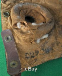 BATTLE of BRITAIN era B-Type Flying Helmet RNZAF Issue So = NOT A. M. Marked