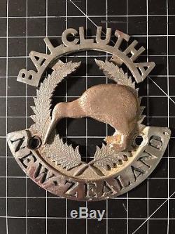 Balclutha New Zealand Car Badge