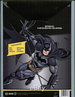 Batman #1 CGC 10.0 GEM Mint Silver Foil Batman 1st Release Amricons 2018