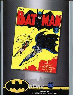 Batman #1 CGC 9.9 Mint Silver Foil Batman 1st Release Amricons