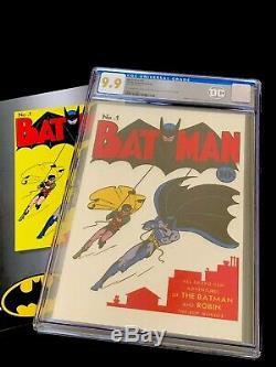 Batman #1 CGC 9.9 Mint Silver Foil Batman 35 Grams. 999 Silver Foil Cover