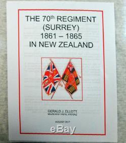 British Victorian Empire New Zealand Medal Maori Wars 1860-1866 70th Foot