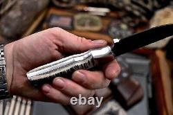 CFK Handmade DC53 Custom PINE FOREST Scrimshaw New Zealand Red Stag Antler Knife