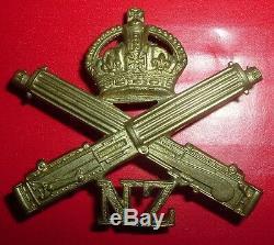 Cap Badges-original Ww1 New Zealand Machine Gun Corps