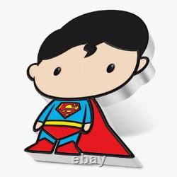 Chibi Coin Collection DC Comics Series SUPERMAN 1oz Silver Coin