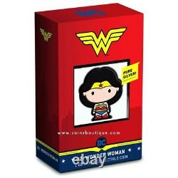 Chibi Coin Collection DC Comics Series WONDER WOMAN 1oz Silver Coin