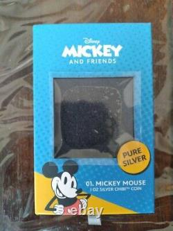 Chibi Coin Collection Disney Mickey Mouse 1oz Silver Coin LOW NUMBER #5 RARE