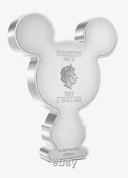 Chibi Coin Collection Disney Series Mickey Mouse 1oz Silver Coin