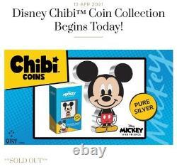 Chibi Coin Collection Disney Series Mickey Mouse 1oz. Silver Coin