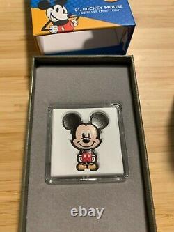 Chibi Coin Collection Disney Series Mickey Mouse 1oz Silver Coin #50/2000 LE