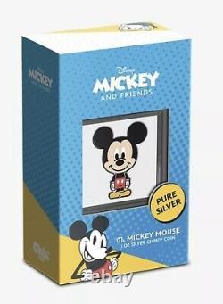 Chibi Coin Collection Disney Series Mickey Mouse 1oz Silver Coin (CONFIRMED)