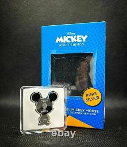 Chibi Coin Collection Disney Series Mickey Mouse 1oz Silver Coin IN HAND