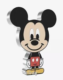 Chibi Coin Collection Disney Series Mickey Mouse 1oz Silver Coin. PREORDER