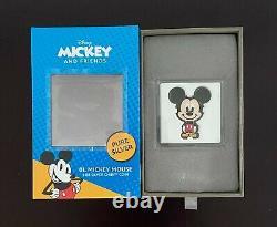 Chibi Coin Collection Disney Series Mickey Mouse 1oz Silver Coin, SHIPS TODAY