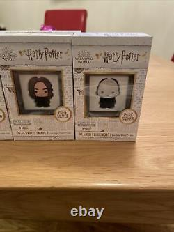 Chibi Coin Collection Harry Potter Full Set 8 Niue NZ Mint 1oz Silver Coins