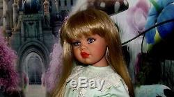 Collectible Doll Hannah By New Zealand Artist Jan Mclean