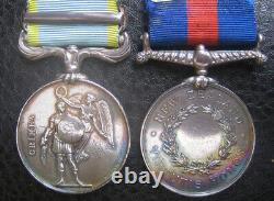 Crimea And New Zealand Medal 57th Foot Officer & Military Knights Of Windsor