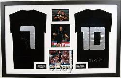 Dan Carter & Richie McCaw SIGNED ALL BLACKS JERSEYS NEW ZEALAND AFTAL COA (A)