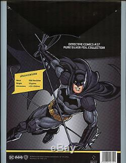 Detective Comics #27 CGC 10 Gem Mint Silver Foil Batman 1st Release Amricons DC