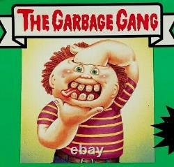 GPK AUSTRALIAN NZ 1986 Garbage Gang 3rd Series 3 OS3 PARTIAL SET (41/82) RARE